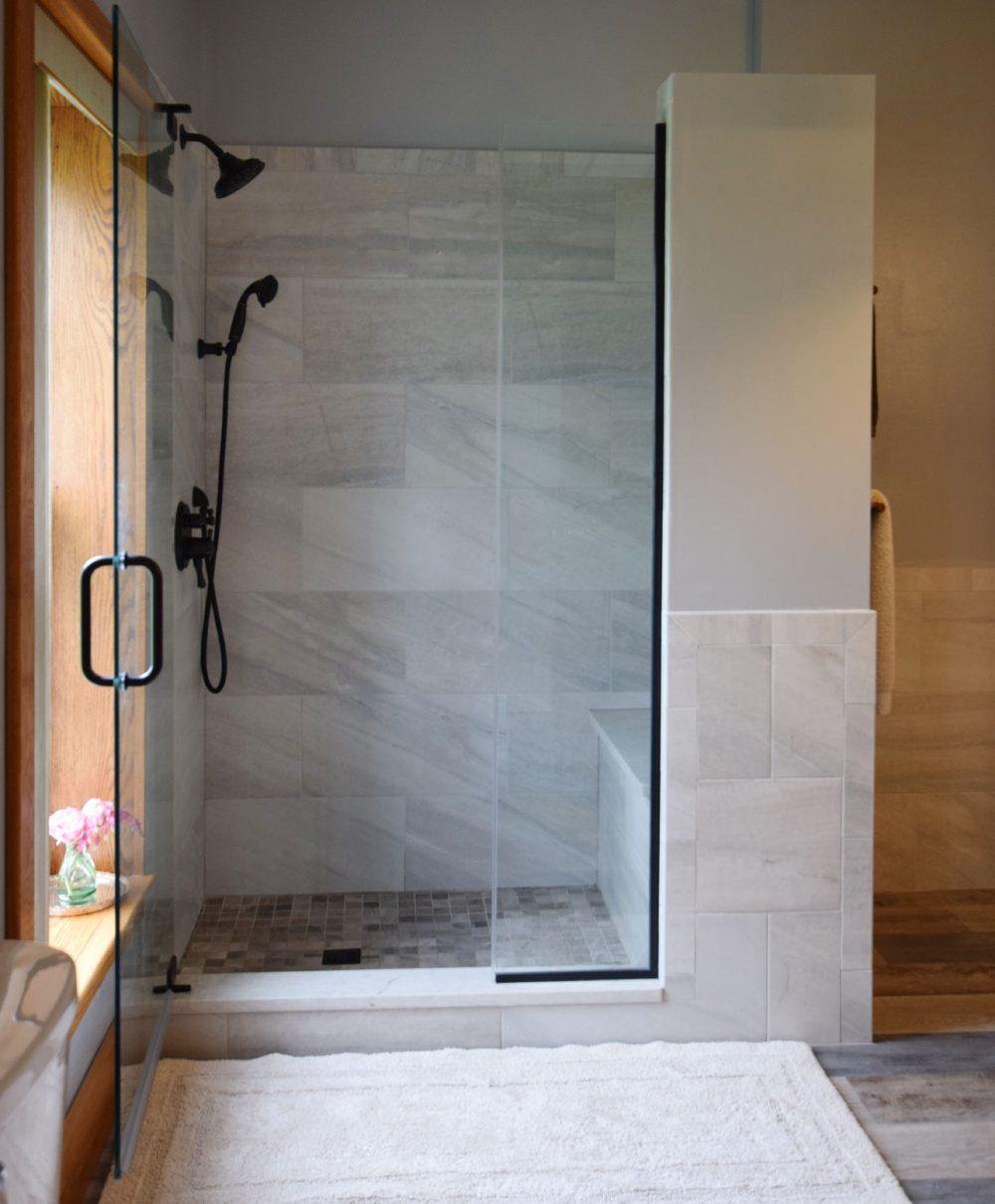 Quartz Shower Curb